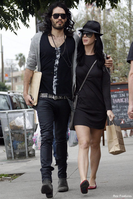 Katy Perry and Russell Brand - Celebrity News - Marie Claire