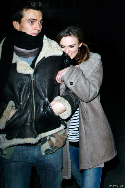 Keira Knightley & Rupert Friend - Celebrity News - Marie Claire