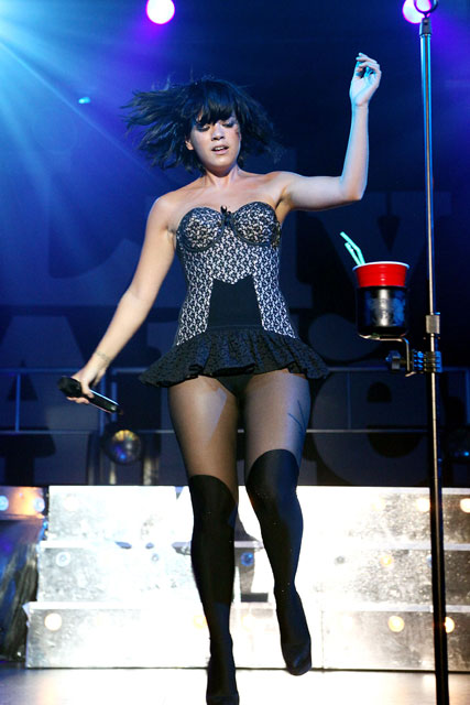 Lily Allen wearing underwear as outerwear - Fashion Trend - News - Marie Claire