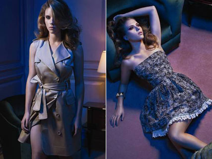 Scarlett Johansson for Mango Spring/Summer 2010 - Fashion News - Marie Claire