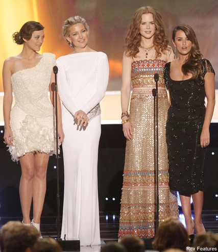 Marion Coillard, Kate Hudson, Nicole Kidman and Pelelope Cruz - Celebrity News - Marie Claire