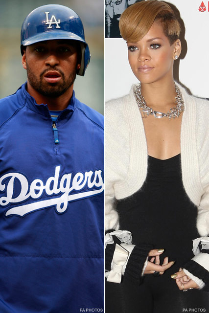 Rihanna and Matt Kemp - Celebrity News - Marie Claire