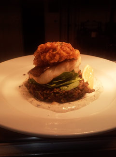 Roast Hake with Curried Puy Lentils - Recipes - Marie Claire