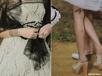 Chanel Transfer Tattoos - Beauty News - Marie Claire