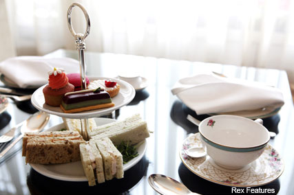 Afternoon Tea at The Dorchester  - Fashion News - Marie Claire