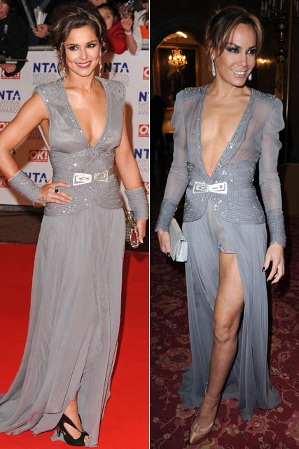 Cheryl Cole and Tara Palmer-Tompkinson - Who wore Stéphane Rolland best?