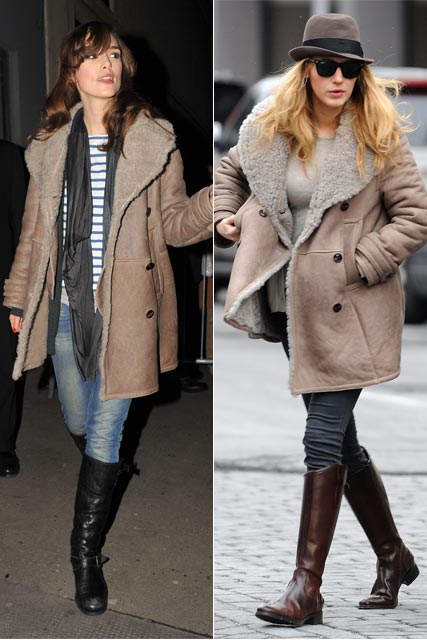 Keira Knightley and Blake Lively - Who wore it best?