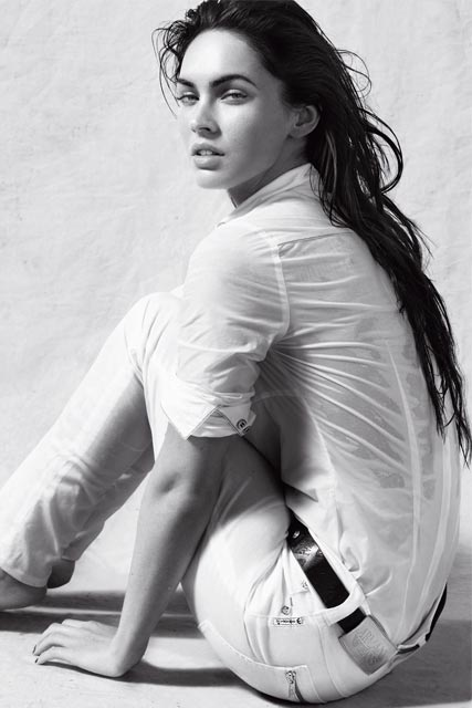 Megan Fox for Armani Jeans