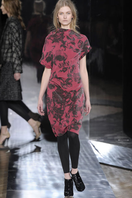 Nicole Farhi A/W 2010 - London Fashion Week - Marie Claire