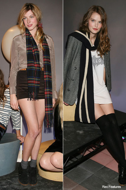 Alexa Chung for Madewell - New York Fashion Week - Marie Claire