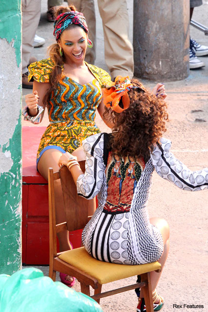 Beyonce Knowles and Alicia Keys in Brazil - Fashion News - Marie Claire