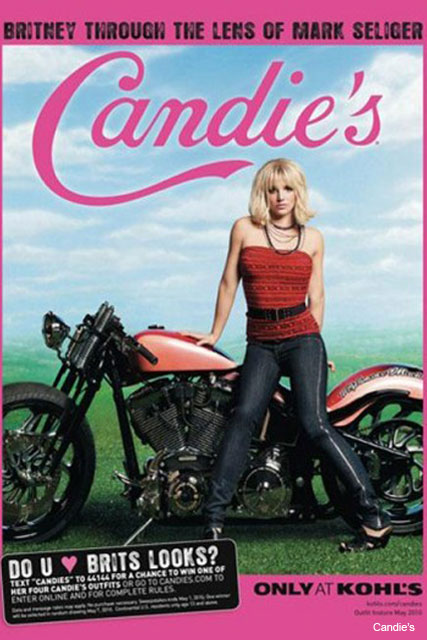 Britney Spears Candie's ad campaign - Fashion News - Marie Claire