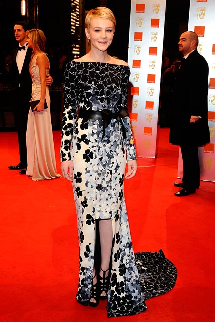 Carey-Mulligan, The BAFTA's 2010, Celebrity Photos, 21 February  2010