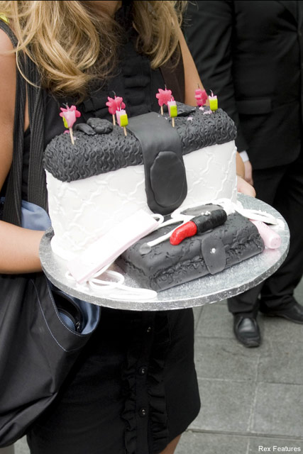 Cheryl Cole's birthday cake - Celebrity News - Marie Claire