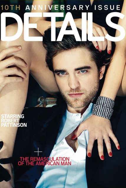 Robert Pattinson - Details - Robert Pattinson details - Twilight - Eclipse - Marie Claire
