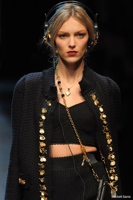 Dolce & Gabbana A/W 2010, Milan Fashion Week