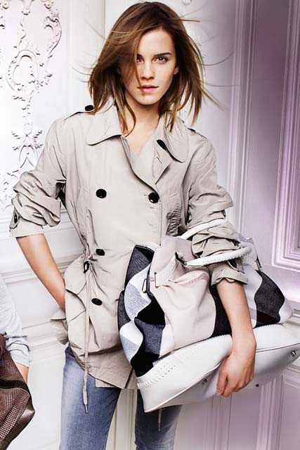 Emma Watson for Burberry Spring/Summer 2010, Fashion News, Celebrity Photos