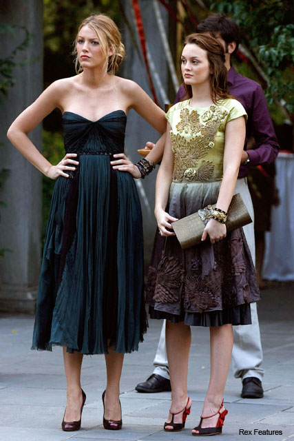 Blake Lively and Leighton Meester - Miss Selfridge Gossip Girl Collection - Fashion - Marie Claire