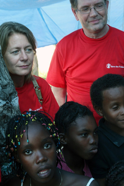 Jasmine Whitbread, Save the Children UK?s Chief Executive