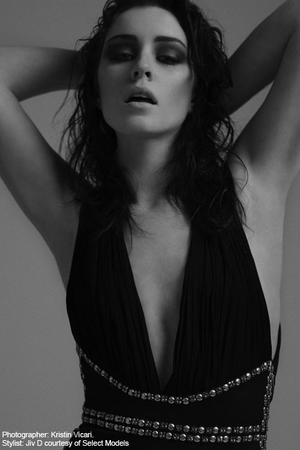 Lucie Jones for Select Model Management Crop - Fashion News - Marie Claire