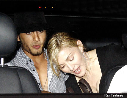 Madonna and Jesus Luz in Brazil - Celebrity News - Marie Claire