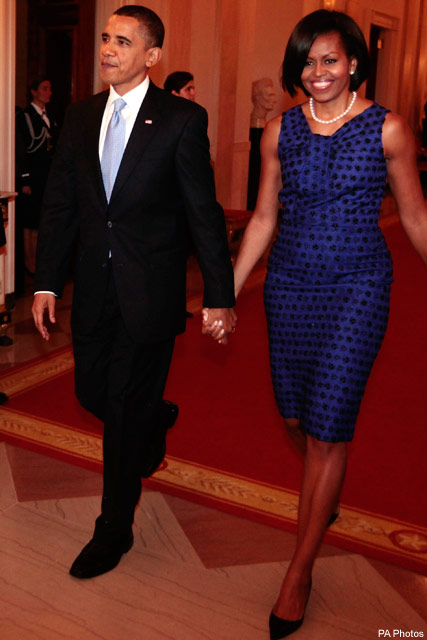 The Obamas - News - Marie Claire