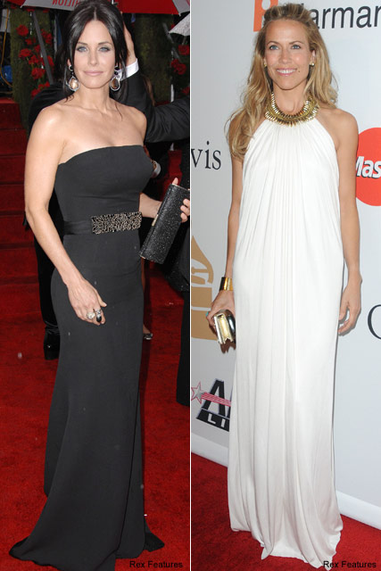 Sheryl Crow & Courteney Cox - Celebrity News - Marie Claire