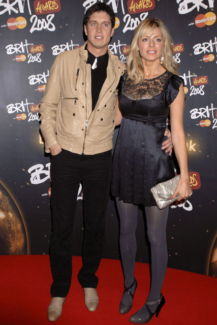 Marie Claire celebrity photos: The Brit Awards, Vernon Kay and Tess Daly