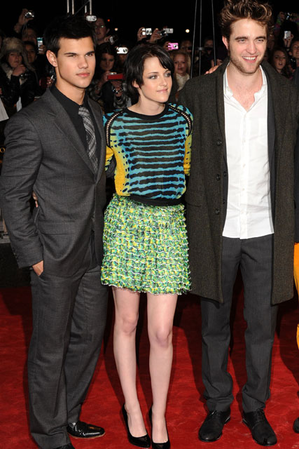 Taylor Lautner, Kristen Stewart and Robert Pattinson - Twilight - Marie Claire