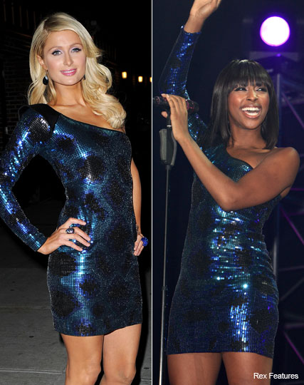 Paris Hilton and Alexandra Burke in Lipsy - Who wore it best? - Fashion - Marie Claire