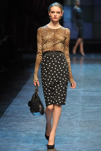Dolce & Gabbana Autumn/Winter 2010, Milan Fashion Week