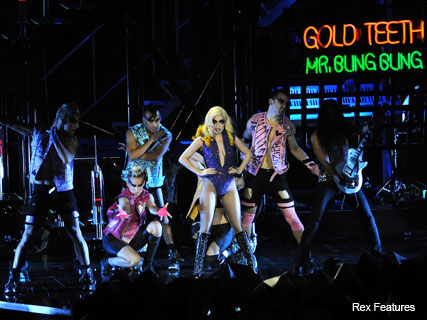 Lady Gaga in concert at the 02 - Fashion - Marie Claire