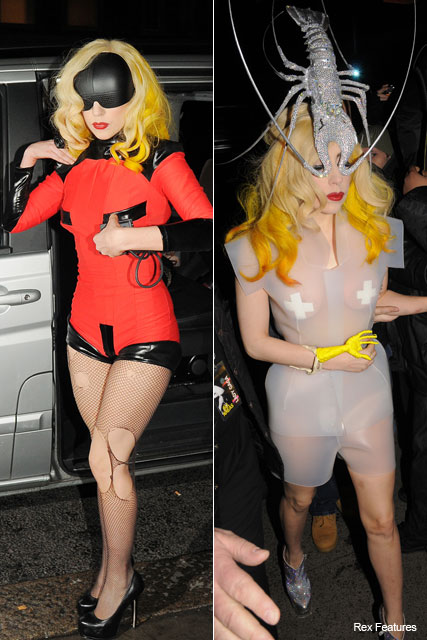 Lady Gaga  in superhero costume - Fashion - Marie Claire