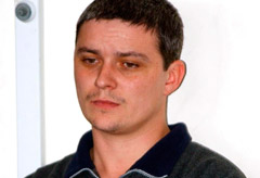 The notorious Soham killer, Ian Huntley, was in hospital last night after having his throat slashed by a fellow prisoner.