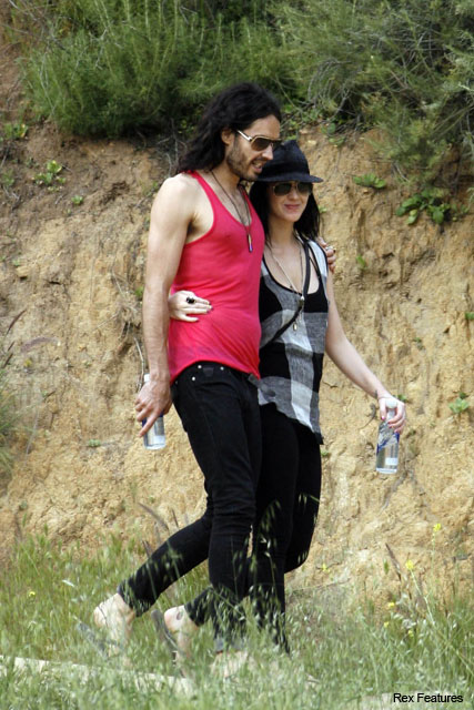 Katy Perry says Russell Brand is a 'bridezilla' - Wedding plans, fiancee, engaged - News - Marie Claire
