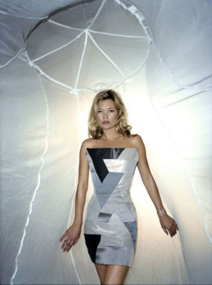 Kate Moss in William Tempest design for Sport Relief 2010 - Malaria No More campaign - News - Marie Claire