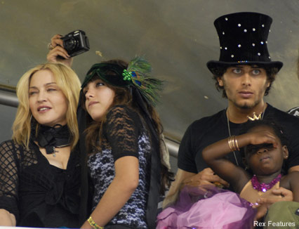 Madonna and Jesus Luz - Rio Carnival - Celebrity News - Marie Claire
