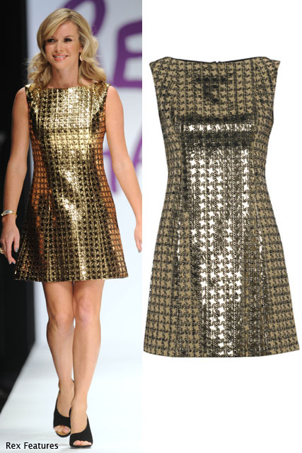 Amanda Holden in Victoria Beckham Collection  - Shop Fashion for Relief at Net-a-porter.com - Marie Claire