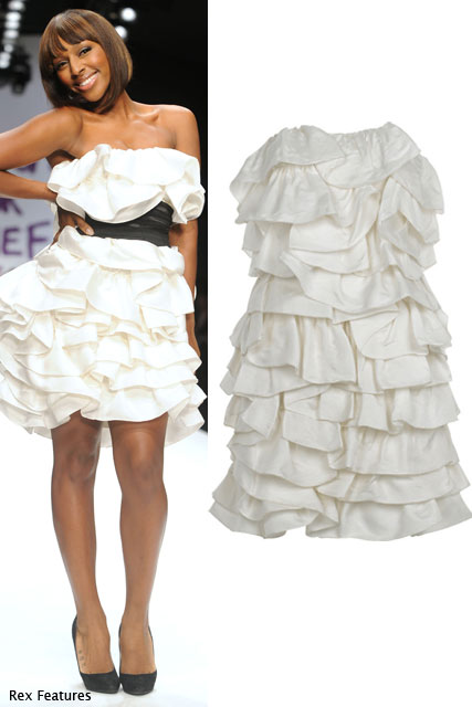Alexandra Burke in Luisa Beccaria  - Shop Fashion for Relief at Net-a-porter.com - Marie Claire