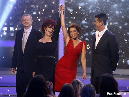 X Factor 2007 judges crop - Sharon Osbourne attacks Dannii Minogue - Celebrity - Marie Claire