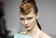William Tempest hair & beauty by Toni & Guy - London Fashion Week - Marie Claire