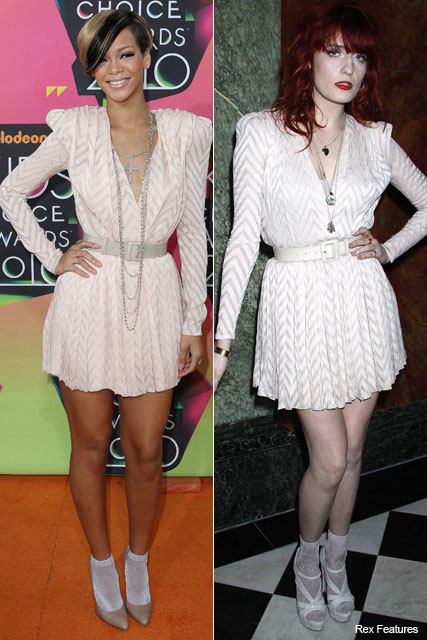 Rihanna and Florence Welch in Christian Dior - Who wore it best? - Marie Claire