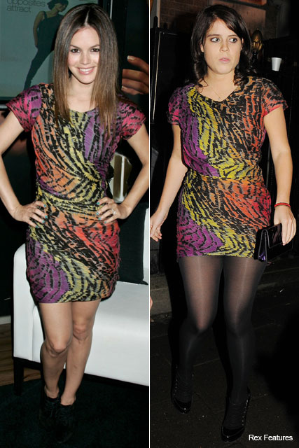 Rachel Bilson and Princess Eugenie in Diane von Furstenberg - Who wore it best? - Fashion - Marie Claire
