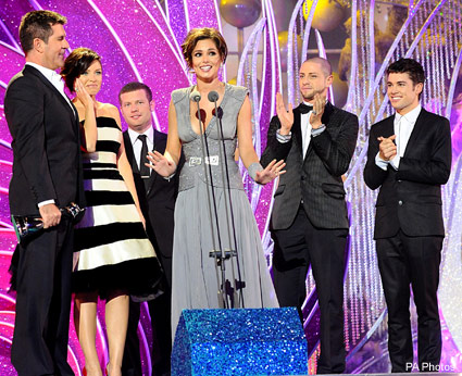 X Factor - National Television Awards - Celebrity - Marie Claire