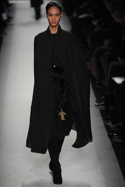 Yves Saint Laurent, Autumn/Winter 2010, Paris Fashion Week