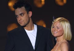 Geri Halliwell reveals Robbie Williams saved her life as she battled bulimia