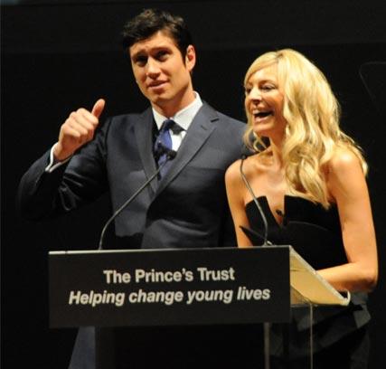 Tess Daly and Vernon Kay at The Prince's Trust Celebrate Success awards