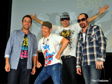 The Backstreet Boys offer words of wisdom to lady gaga - News - Marie Claire