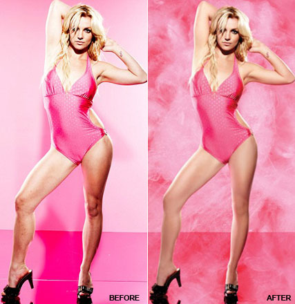 Before and After: Britney Spears