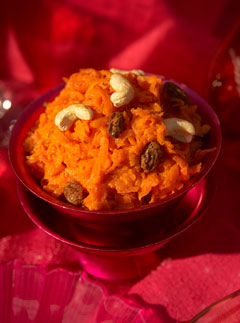 Carrot Halwa - Miss Masala - Recipes - Marie Claire